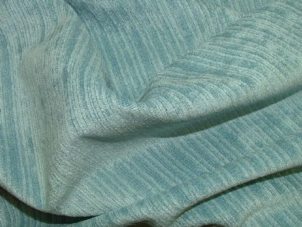 Pale Blue Soft Pile Designer Velvet Curtain Upholstery Fabric